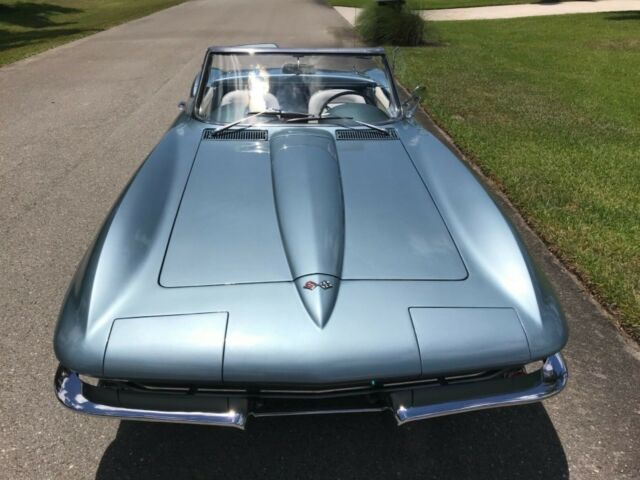 1967 Corvette Convertible Very Rare Color Elkhardt Blue For Sale Photos Technical Specifications Description