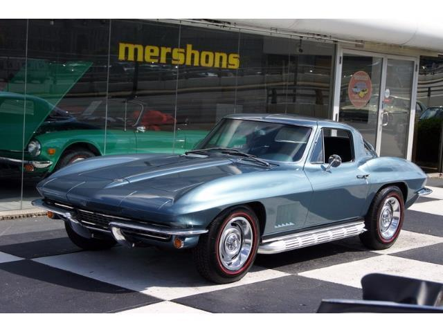 1967 Corvette Coupe Lynndale Blue Teal Int Matching Numbers Owner History