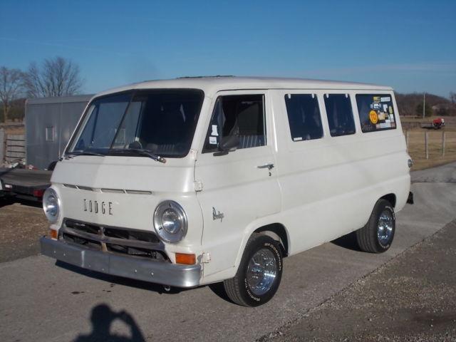 1967 DODGE A100 WINDOW VAN CONVERSION 318 727 AUTO 8 3 4