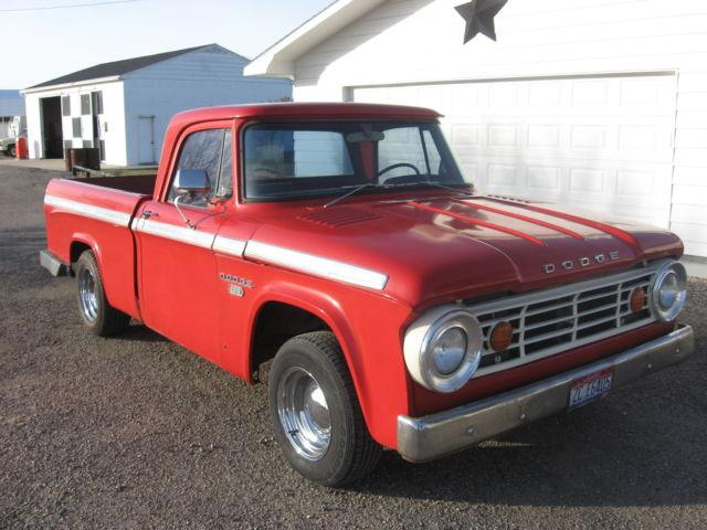 Used Dodge Lexington >> 1967 Dodge d100 pickup for sale: photos, technical specifications, description
