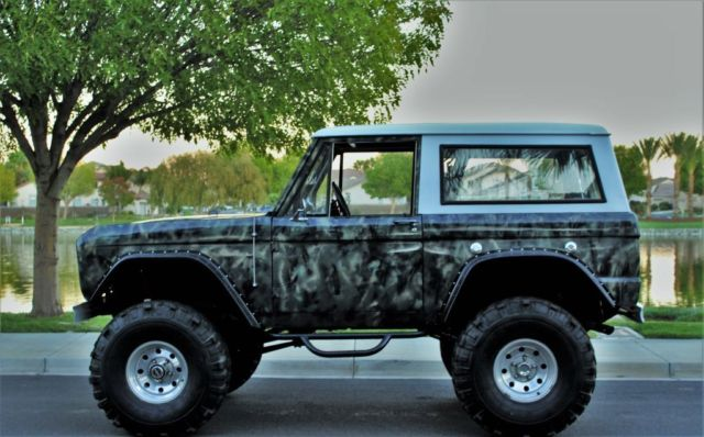 1967 ford bronco 4x4 early bronco no reserve for sale photos technical specifications. Black Bedroom Furniture Sets. Home Design Ideas