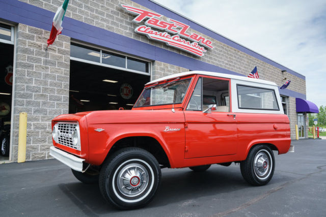 1967 Ford Bronco Unmodified