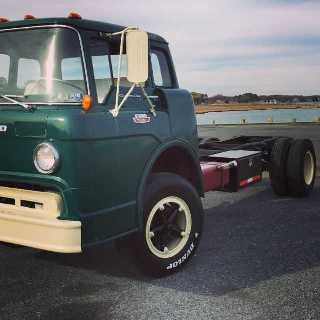 1967 Ford C700 Cabover Truck for sale: photos, technical