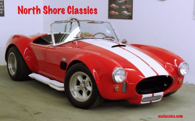 1967 Shelby Cobra Replica Ford Cobra Replica Roadster Convertible