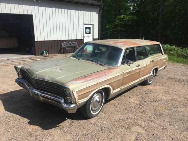1967 FORD COUNTRY SQUIRE! NO RESERVE! VERY COMPLETE