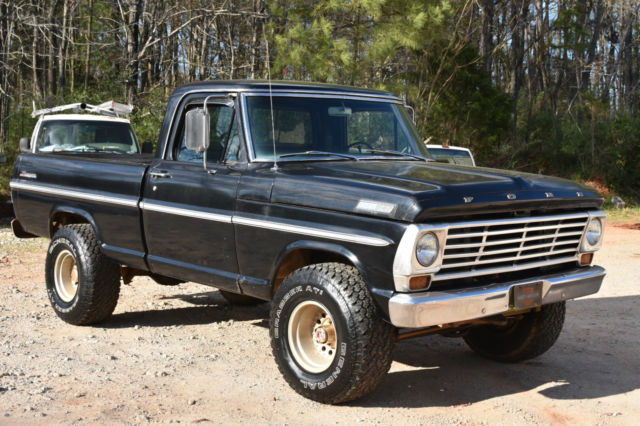 1967 Ford F-100 4X4 Shortbed for sale: photos, technical ...  1967 Ford F-100...