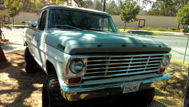 1967 Ford F-100 Base Standard Cab Pickup 2-Door