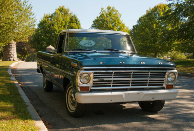 1967 Ford F150 custom cab pick up truck for sale photos