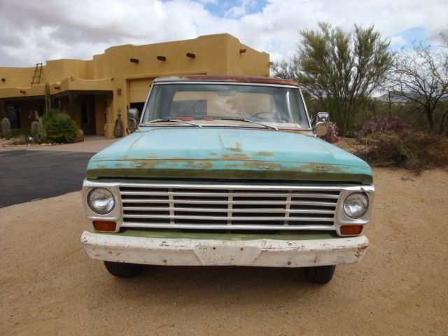 1967 Ford F-100 Camper Special