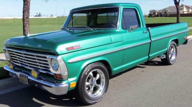 1967 Ford F-100 F100 Custom Cab 2nd Owner
