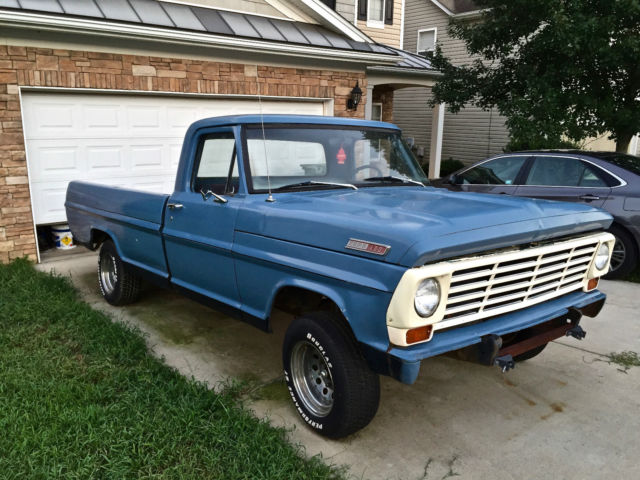 1967 Ford F100 Truck Long Bed F 100 Lwb