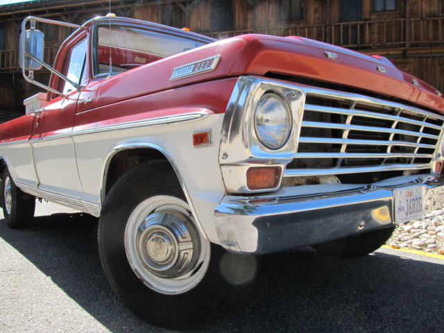 1967 Ford F-250 Ford F-250
