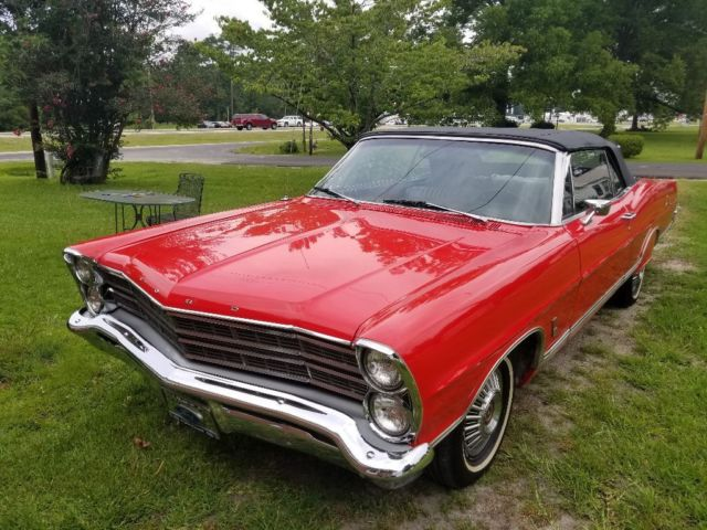 1967 Ford Galaxie Convertible