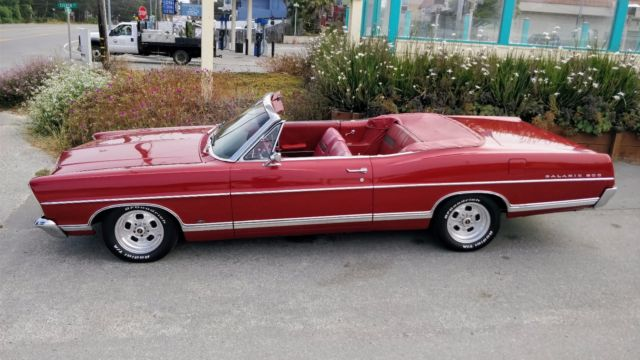 1967 Ford Galaxie 500 Convertible with Ford 429-460 525HP Excellent Condition