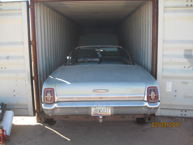 1967 Ford Galaxie Galaxie 500 convertible RESERVE LOWERD $5500