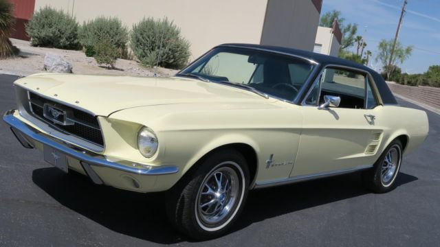 1967 Ford Mustang 289 V8 C CODE! GROUND UP RESTORATION! SHOW WINNER!