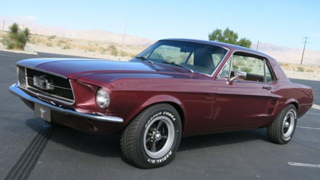 1967 Ford Mustang 289 V8 C CODE, NEW PAINT, DELUXE INTERIOR! C4!