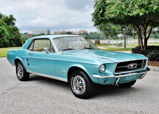 1967 Ford Mustang Coupe 'C' Code 289 V8 One Owner