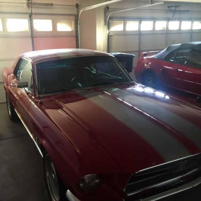 1967 ford mustang condition used - Red 1967 Ford Mustang Coupe