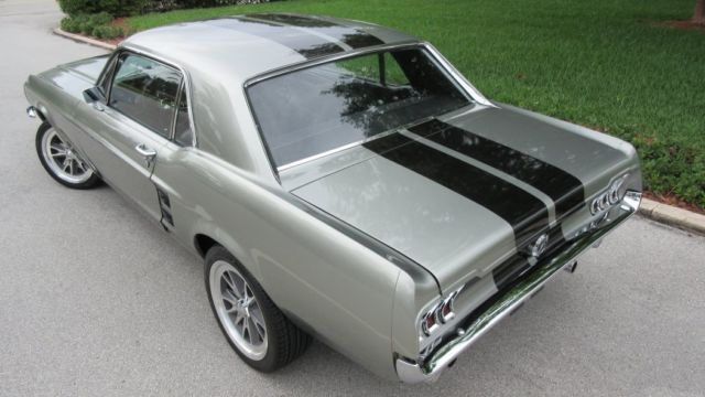 1967 FORD MUSTANG COUPE 302 V8 / 3 SPEED AUTO, ELEANOR ...