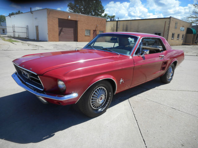 1967 Ford Mustang NO RESERVE AUCTION - LAST HIGHEST BIDDER WINS CAR!