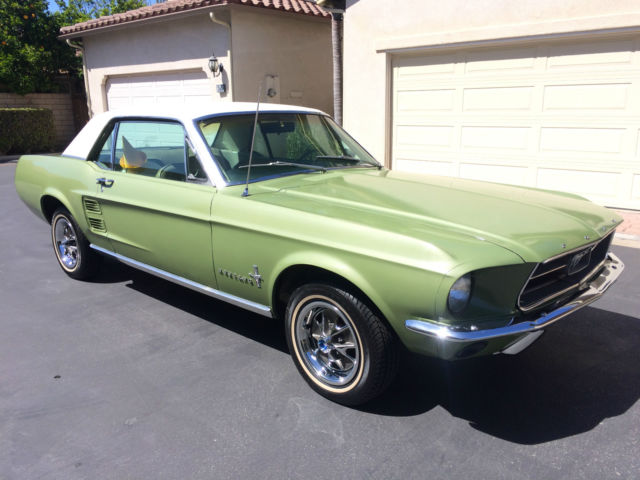 1967 ford mustang coupe factory power steering 289 v8 center console loaded