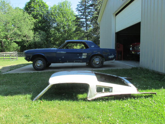 1967 Ford Mustang Coupe Fastback Roof Many Parts Included For