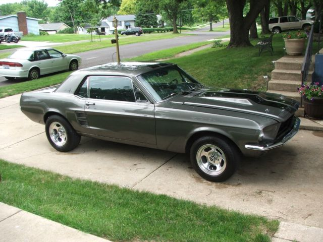 1967 ford mustang coupe condition used - 1967 Ford Mustang Coupe Green