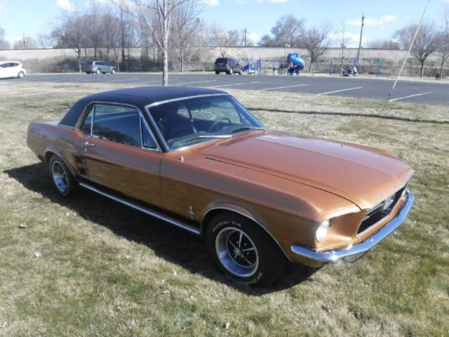1967 Ford Mustang Deluxe Coupe - S Code Car = 390 V8! for sale