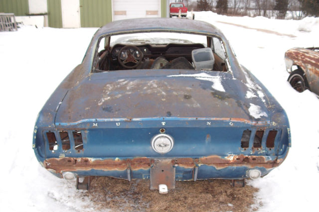 1967 Ford Mustang Fastback Project Car For Sale: 1967 Ford Mustang Fastback Project Car, Build Eleanor Or