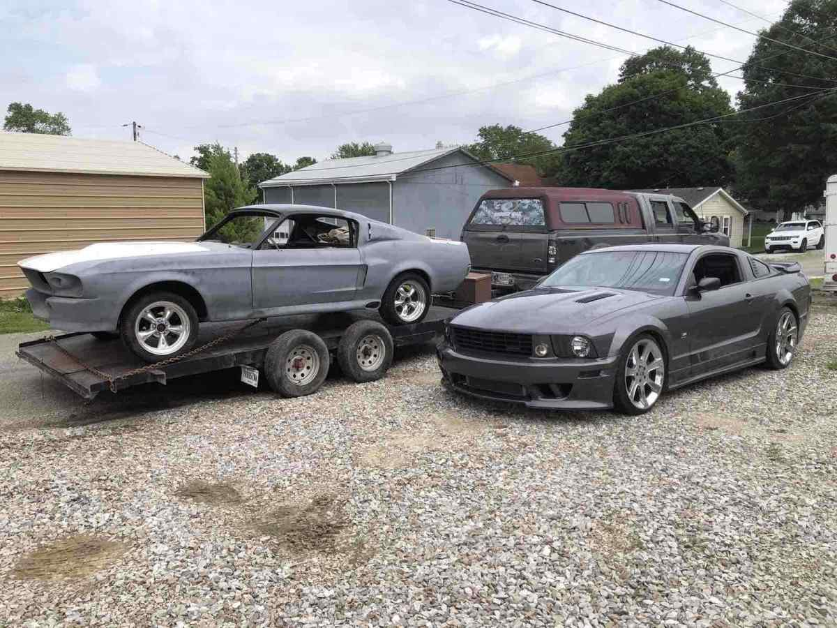 1967 Ford mustang gt 500E Eleanor fastback shelby Shelby gt 500E