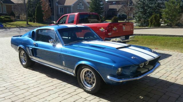 1967 ford mustang shelby gt-500 7.0l for sale: photos, technical