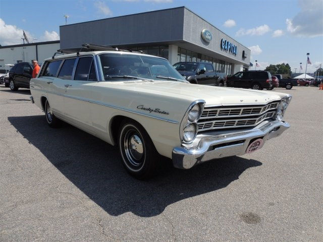 1967 Ford Galaxie 1967 FORD RANCH WAGON