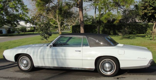 1967 Ford Thunderbird Landau White W Black 2 Door Coupe Hardtop 390