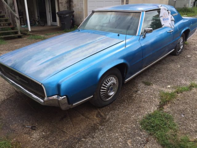 1967 Ford Thunderbird Two Door Sport Coupe 390 V8 For Sale Photos