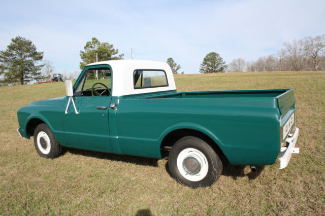 1967 GMC 1500 Shortbed Elvis Presley Owned From The Circle G