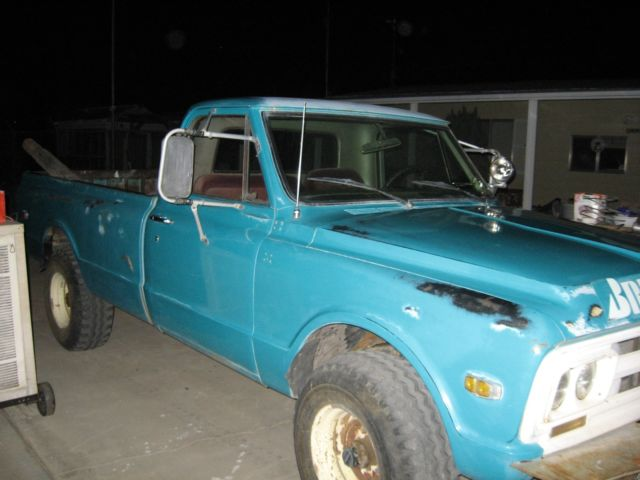 gmc 1967 4x4 v6 block truck 2500 sierra engine landers california states united long used