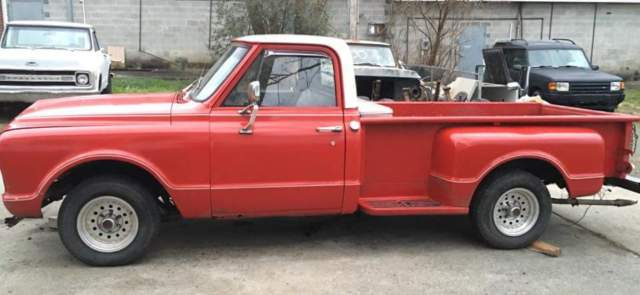 1967 GMC C15 long bed step side (RARE)