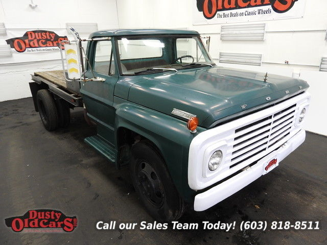 1967 Ford F-550 Runs Drives Body Int Good 330V8 4 spd man