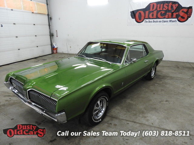 1967 Mercury Cougar Runs Drives Body Int VGood 390V8 Bg Blck
