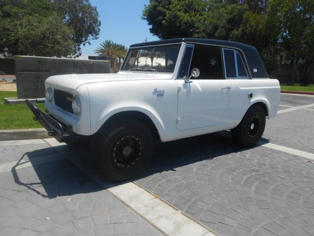 1967 International Harvester Scout Sport Top