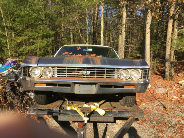 1967 Chevrolet Impala SS 396 matching numbers 396 Super Sport Big Block