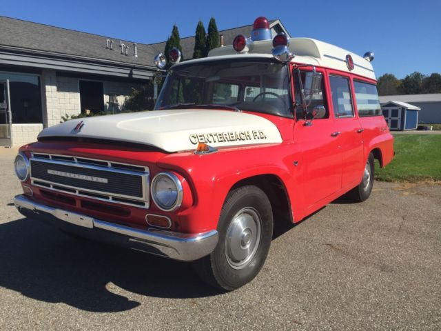 1967 international harvester travelall ambulance time capsule for