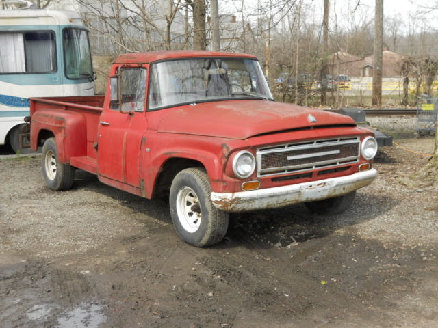 1967 international pickup truck project barnfind solid rare find for sale photos. Black Bedroom Furniture Sets. Home Design Ideas