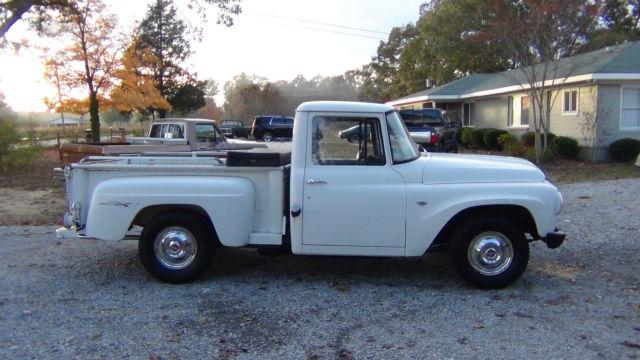 1967 International Truck Short Stepside Original 266 V8