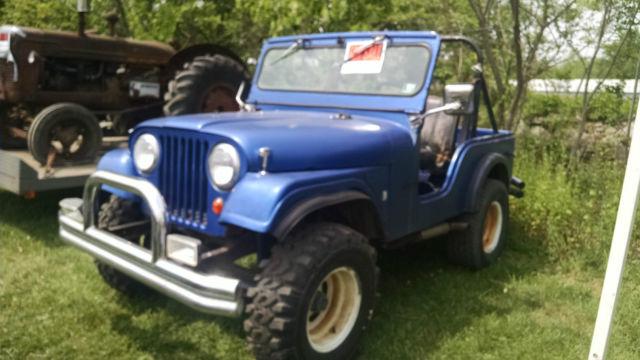 Jeep Cj Cj Willys Kaiser X Fiberglass V