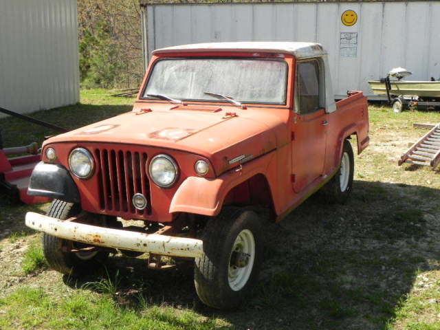 1967 Jeep Commando Half cab-Pick up