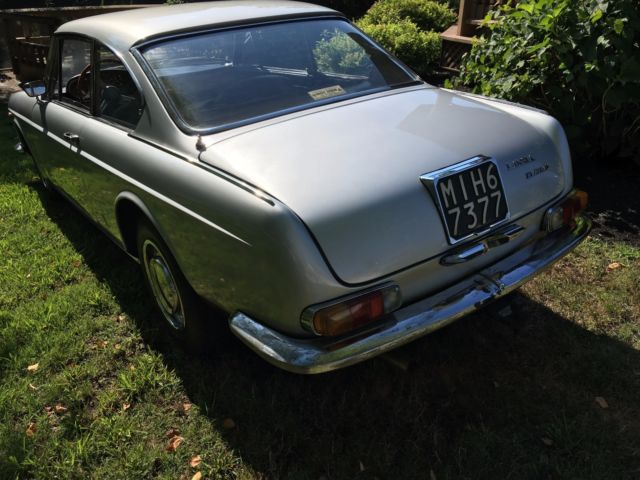 1967 Silver Lancia Other flavia Coupe with palomino interior