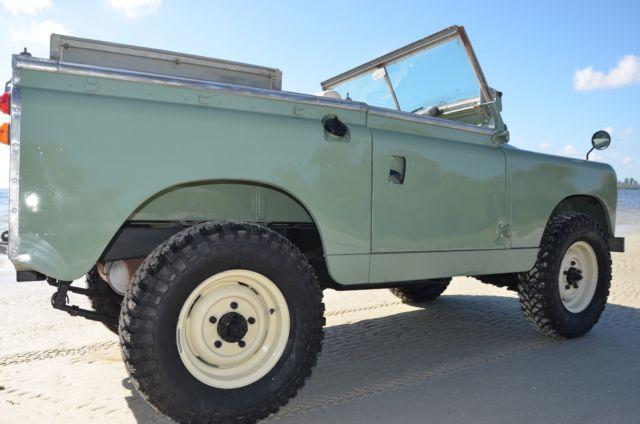 1967 Land Rover Series 2a Pre Defender For Sale  Photos