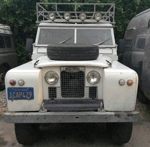 1967 Land Rover series 2a station wagon 109  station wagon
